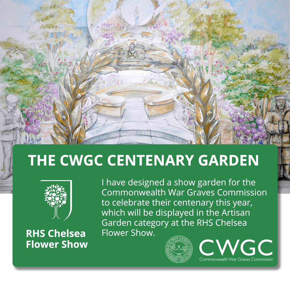 David's Garden for the CWGC at the 2017 RHS Chelsea Flower Show