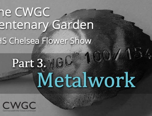 The CWGC Centenary Garden – Metalwork