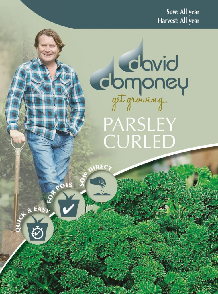 Grow your own Parsley Curled seeds
