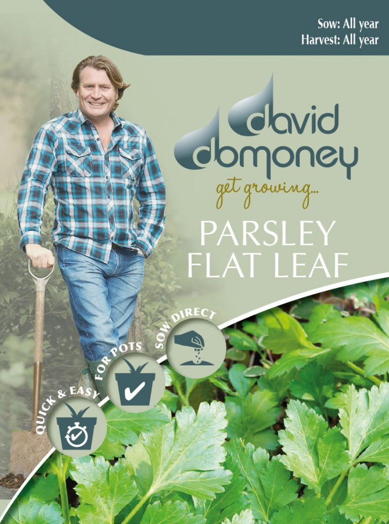 Grow your own Parsley Flat seeds