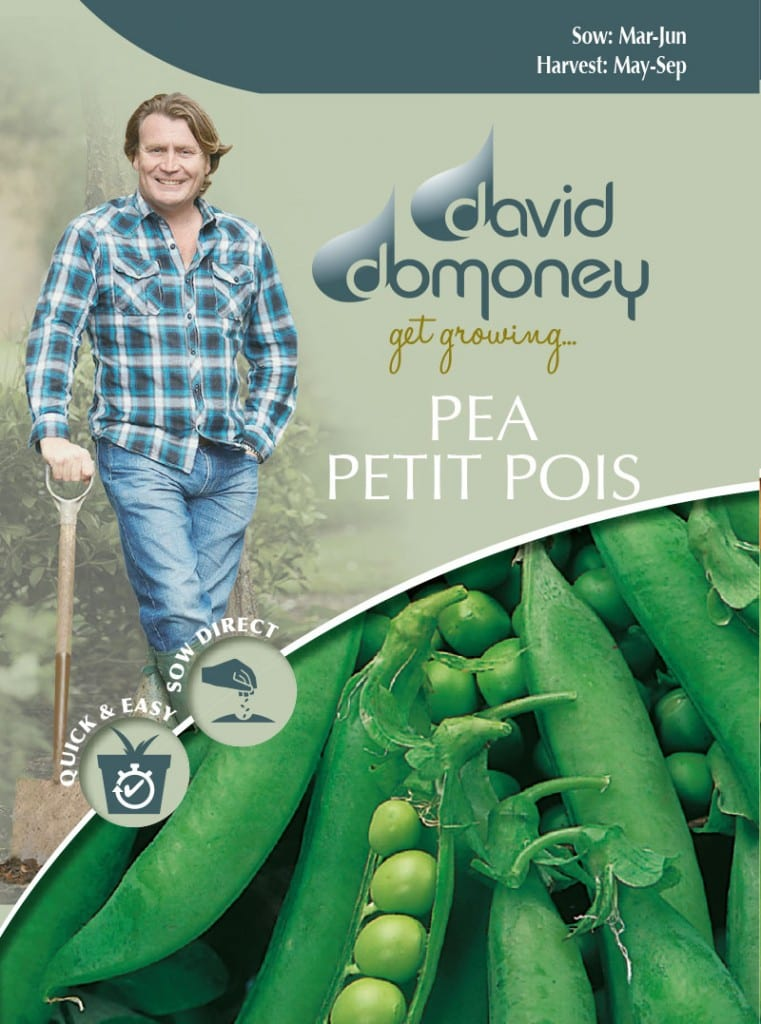 Grow your own Pea Petit Pois seeds