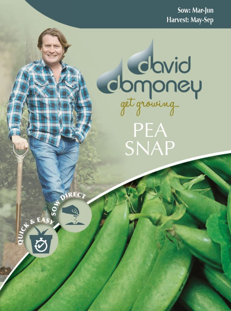Grow your own Pea Snap seeds