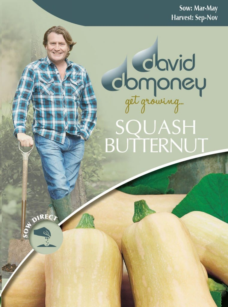 Grow your own Squash (Butternut) seeds