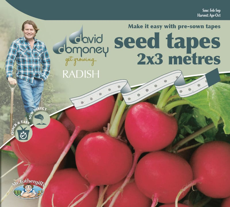 Grow your own Radish Tape Seeds