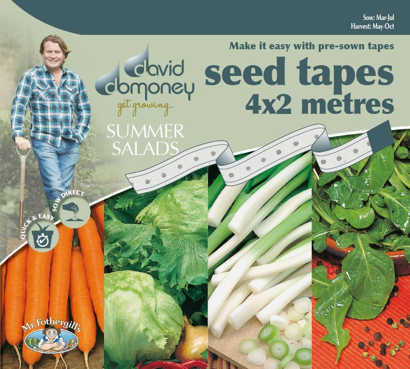 Grow your own Tape Summer Salads seeds