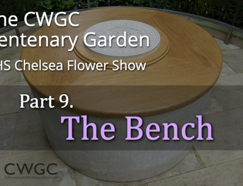 The CWGC Centenary Garden – The Bench