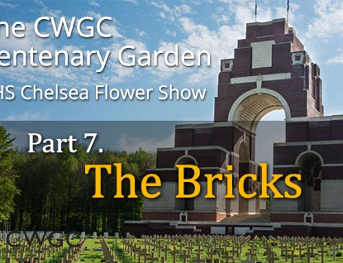 The CWGC Centenary Garden – The Bricks