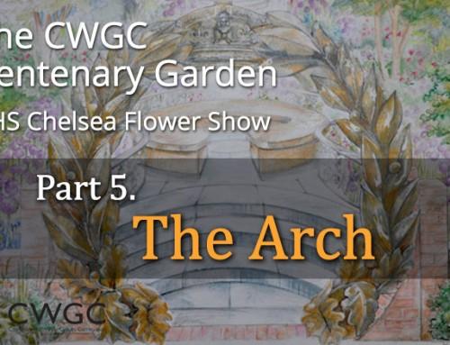 The CWGC Centenary Garden – The Arch