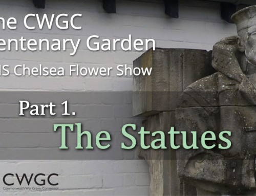 The CWGC Centenary Garden – Statues