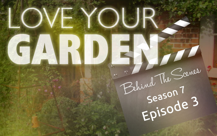 behind the scenes love your garden 2017 episode 3 david domoney. Black Bedroom Furniture Sets. Home Design Ideas