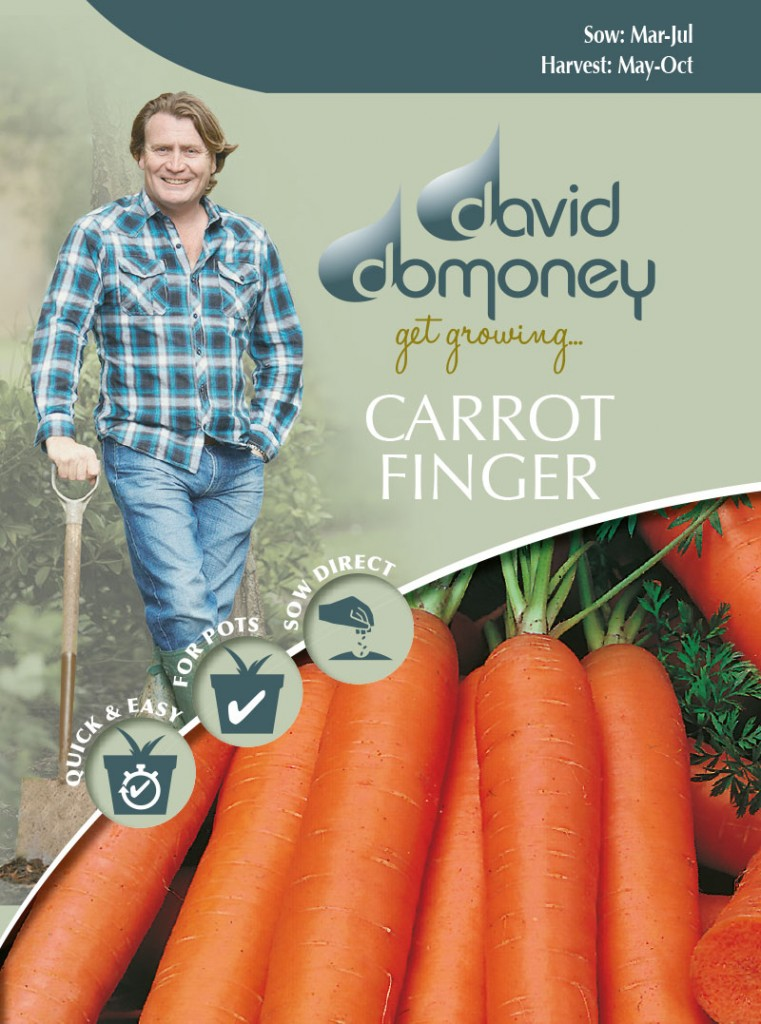 Grow your own Carrot Finger seeds