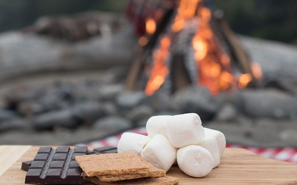 bonfire night marshmallow station