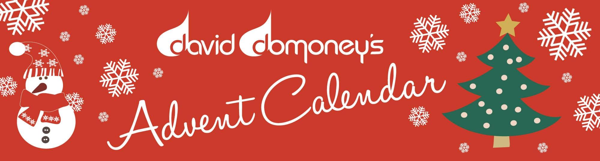 David Domoney's Christmas Advent Calendar