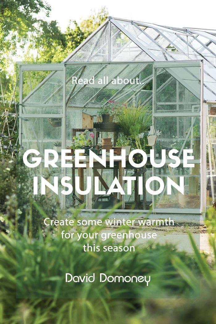 greenhouse insulation