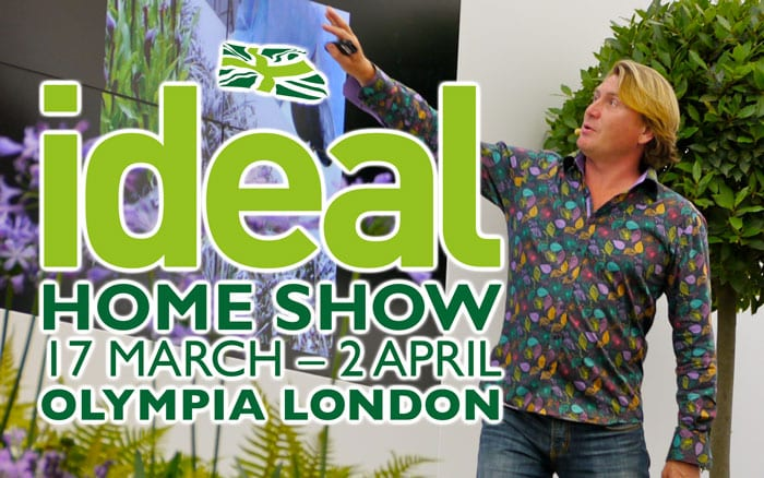 see david domoney live at the ideal home show london 2018. Black Bedroom Furniture Sets. Home Design Ideas