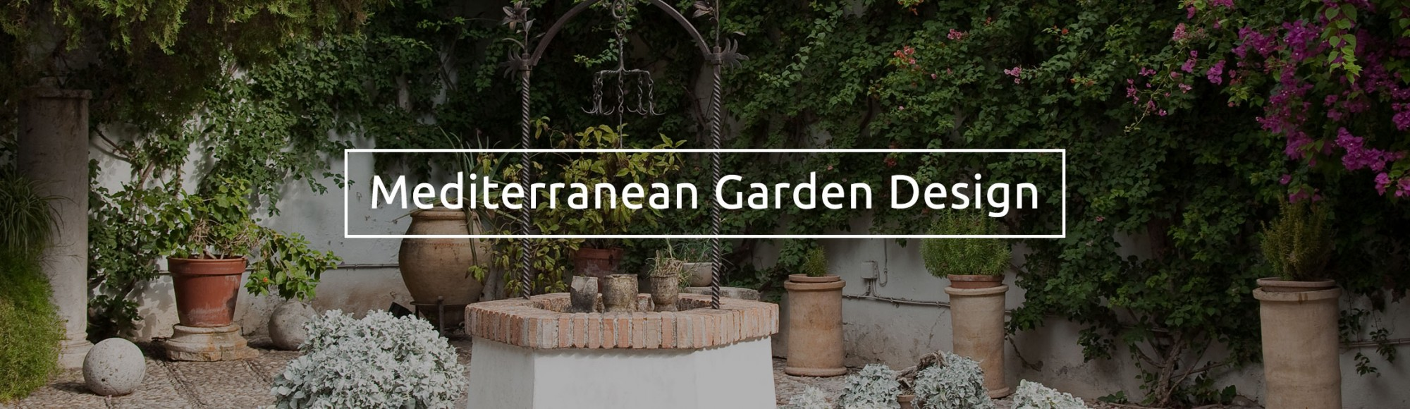 David Domoney Mediterranean Garden Design