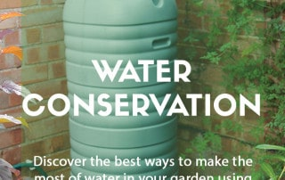 Tips for water conservation in the garden