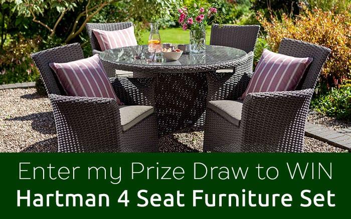 Win a Hartman Appleton 4 Piece Set