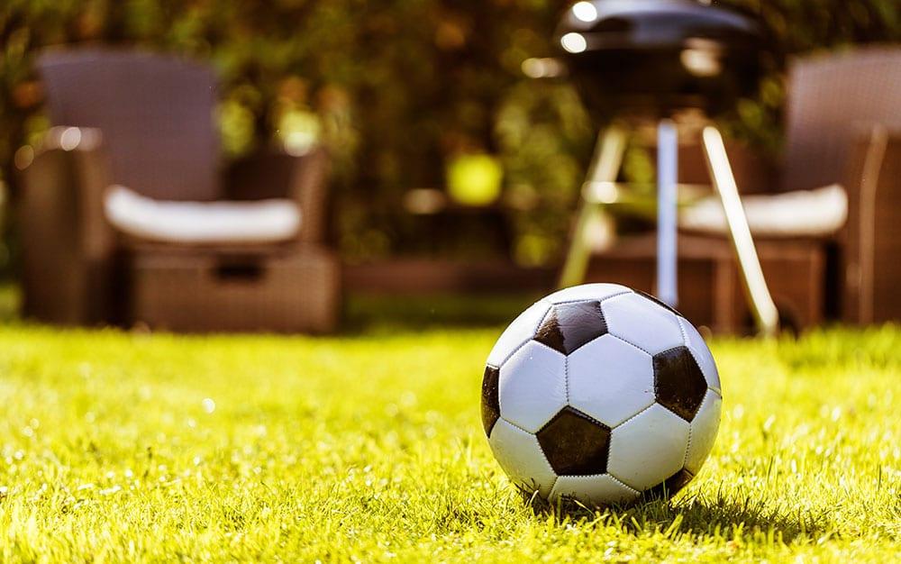 world cup garden party