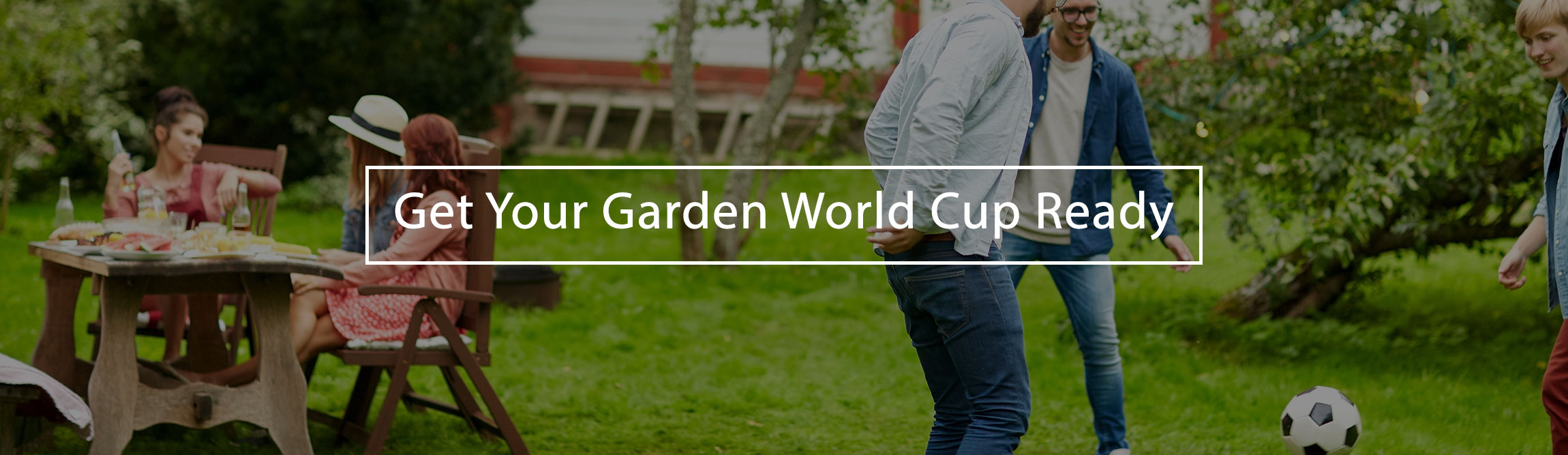 get your garden world cup ready