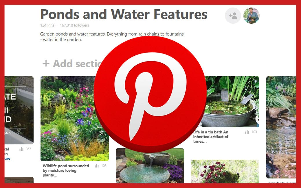 Pinterest-Board-image-ponds and water features