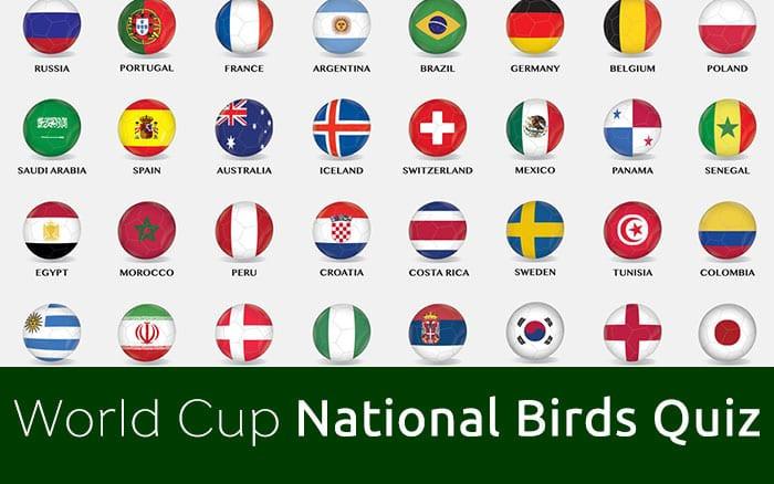 World Cup Quiz National Birds