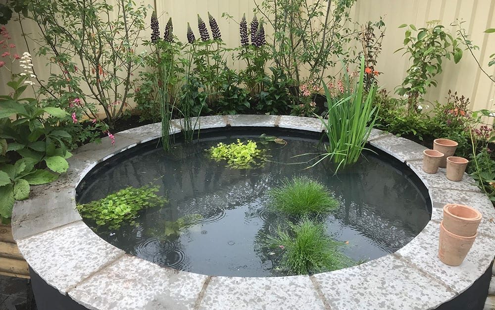 Garden-feature-raised-pond