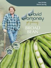 get growing broad bean