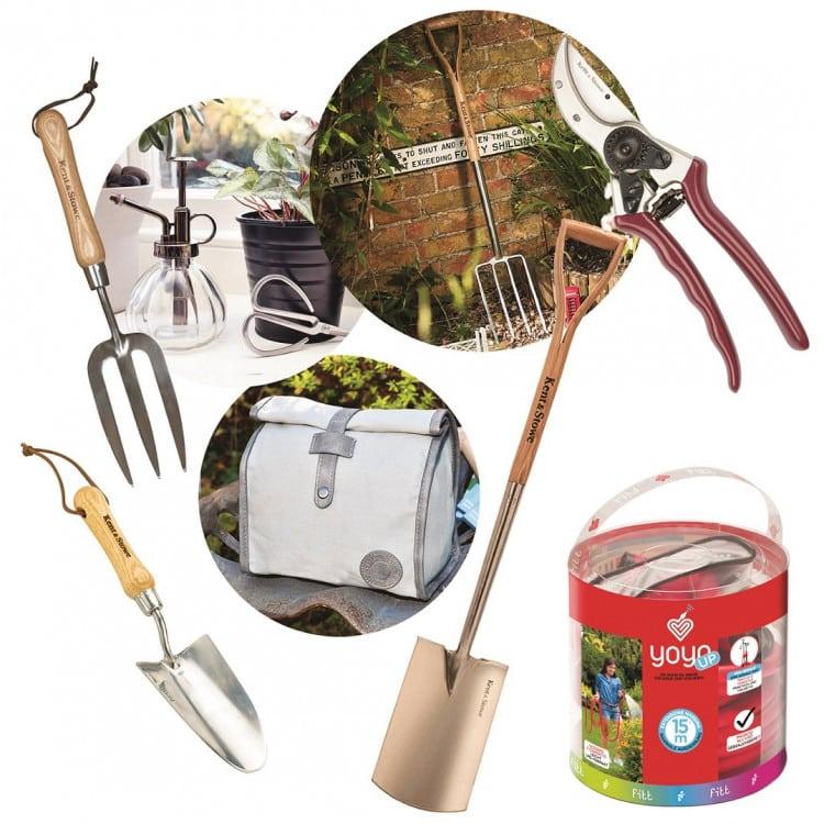 Win essential gardening tools