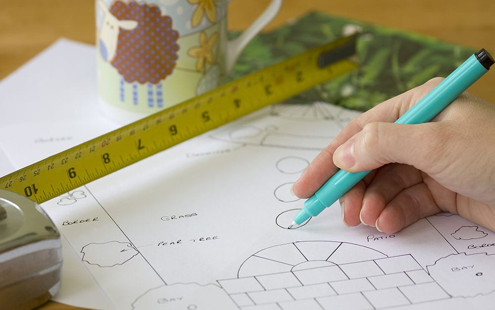 Garden-sketch