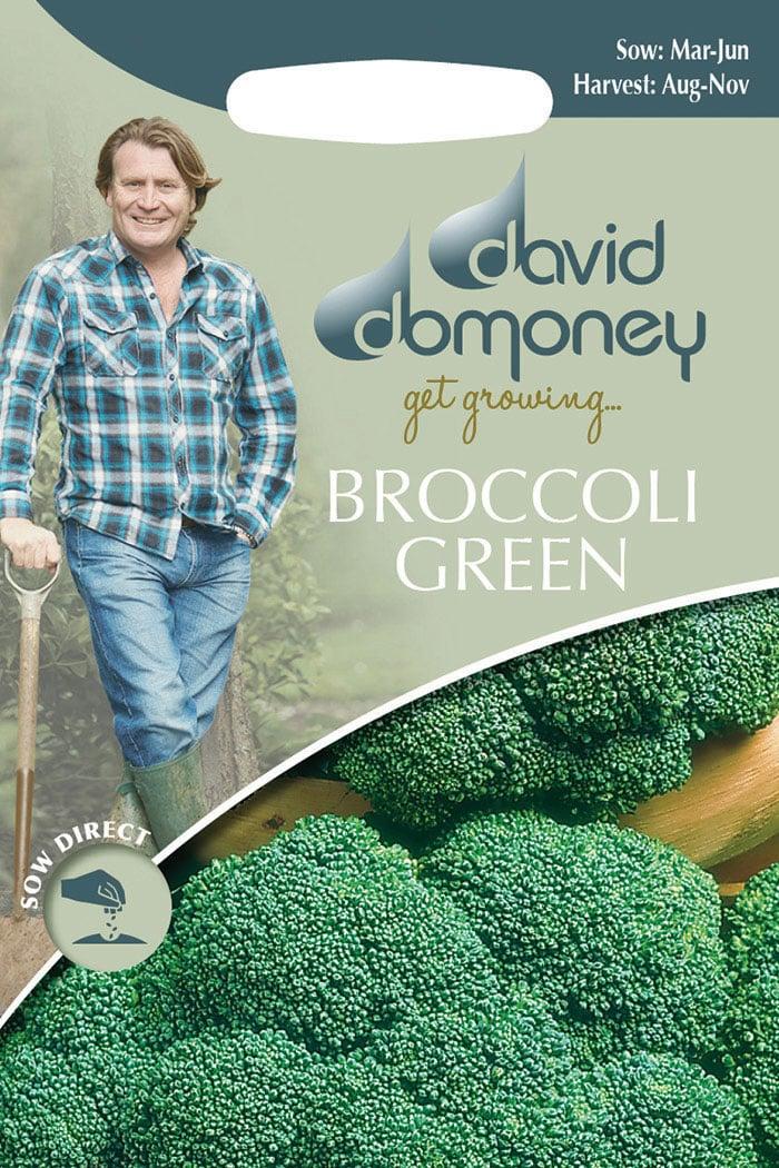 get growing broccoli green