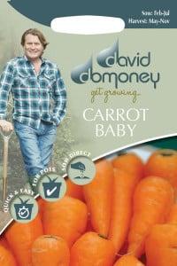 get growing carrot baby