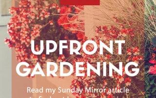 upfront gardening