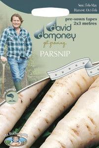 parsnip seed tape