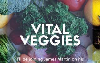 vegetables James Martin