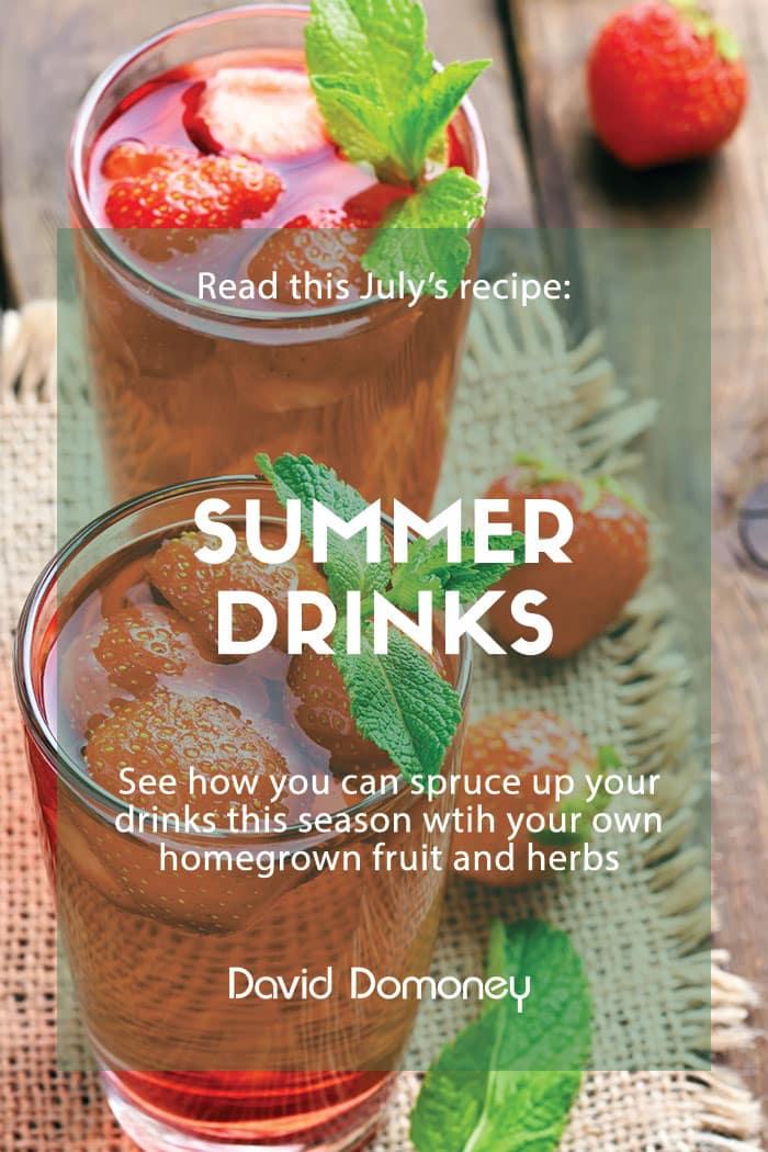 summer drinks recipe