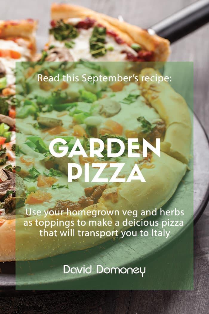 garden pizza recipe