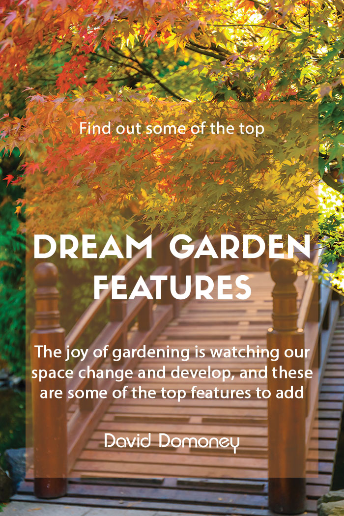 Dream garden features