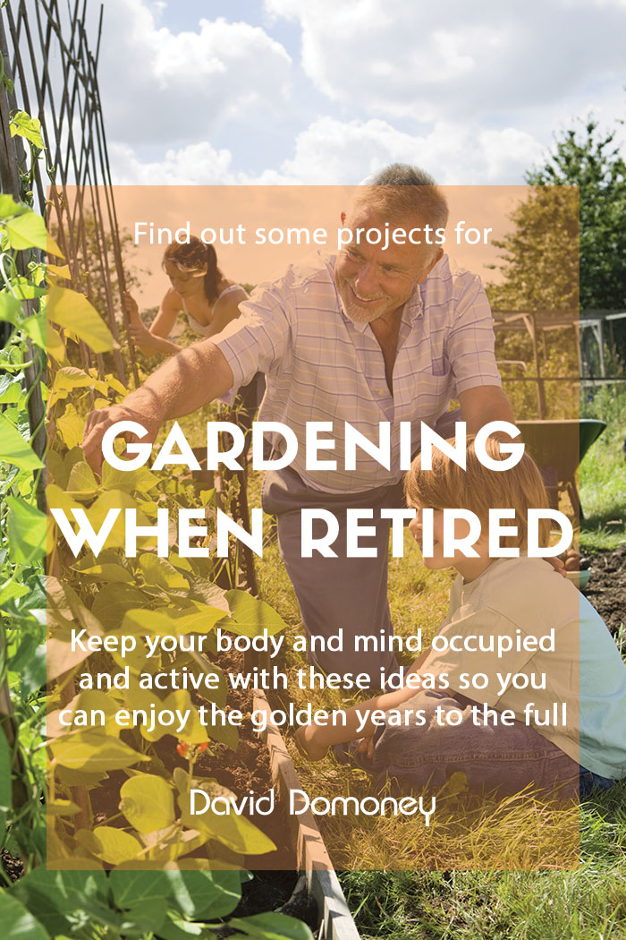 Gardening when retired