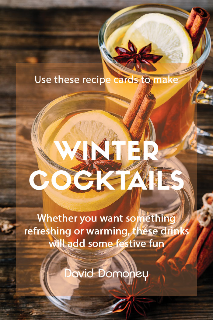 Recipes for winter cocktails