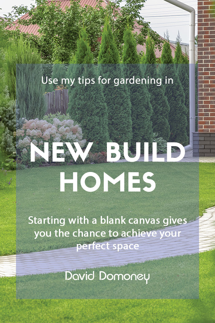 Gardening in a new build home