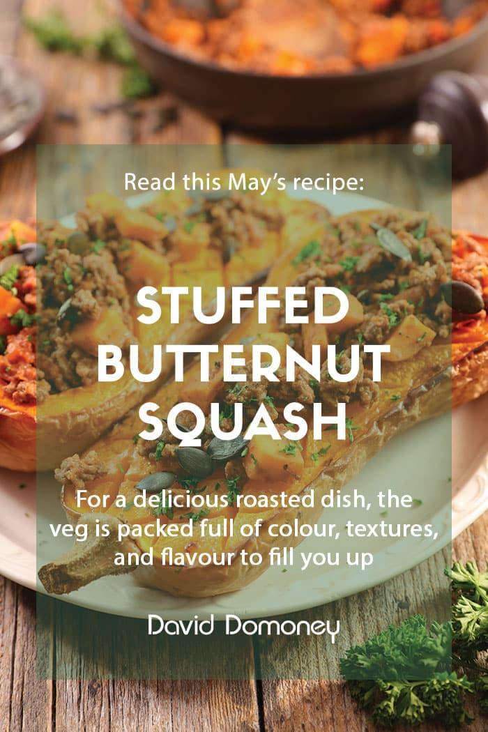 Recipe - May - Stuffed butternut squash