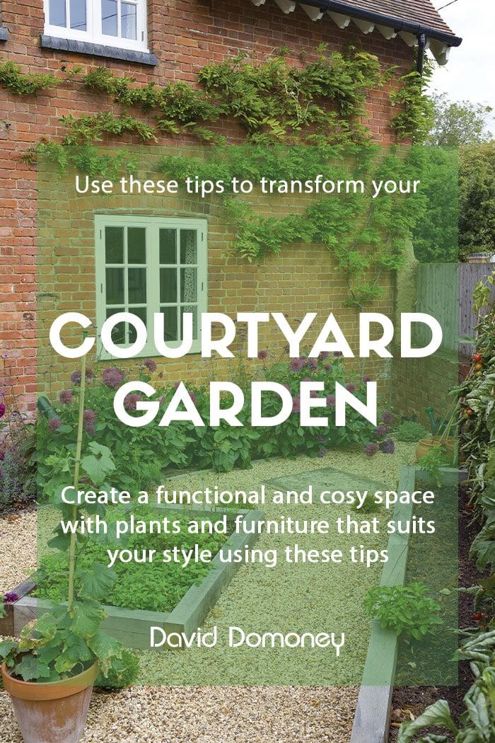 Tips for designing a courtyard garden